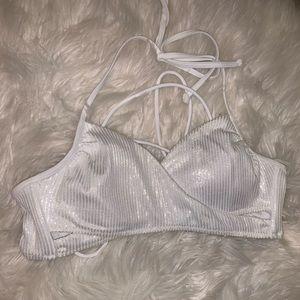 New Victoria's Secret Shimmer Bikini Top